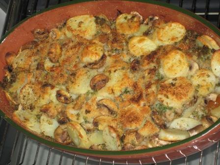 Kartoffel Pilz Gratin Liebe Geht Durch Den Magen